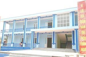 Vượt tiến độ công trình khắc phục khẩn cấp thiên tai Trường THCS Hiền Chung