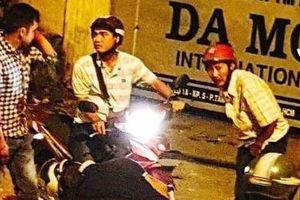 Đã bắt được đối tượng đâm người chết gục trên xe máy