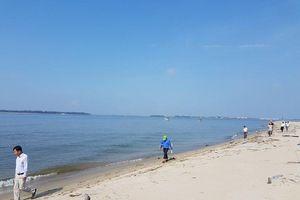 Bất ngờ kết quả quan trắc đảo cát 'khổng lồ' nổi lên giữa biển Hội An