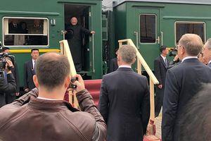 Chủ tịch Triều Tiên Kim Jong-un lần đầu tiên tới Nga