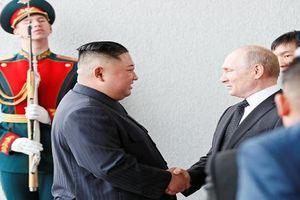 Ông Kim Jong Un nói gì khi gặp Tổng thống Putin?