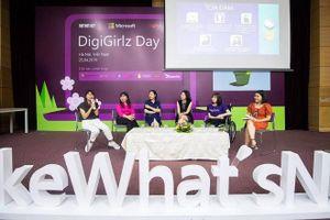 Sự kiện 'DigiGirlz Day' dành cho nữ sinh