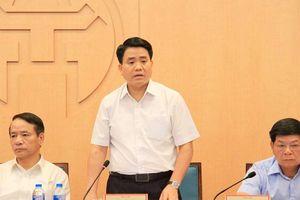 Chủ tịch Hà Nội: Khẩn trương xây hàng rào bảo vệ sân bay Miếu Môn