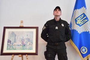 Bị đánh cắp ở Pháp, bức tranh trị giá 1,5 triệu euro được tìm thấy ở Ukraine