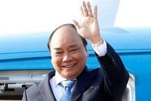 Thủ tướng dự diễn đàn Vành đai và Con đường ở Trung Quốc
