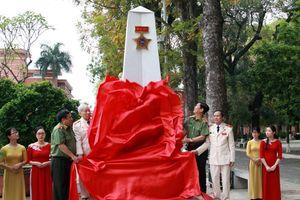 Khánh thành Đài Kỷ niệm Cán bộ Công an chi viện cho chiến trường miền Nam