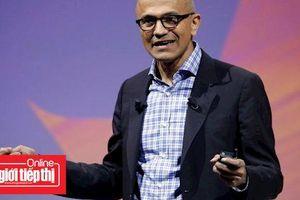 Giá trị thị trường của Microsoft vươt mức 1.000 tỉ đô la, lợi nhuận quí 1 vượt xa mức dự báo