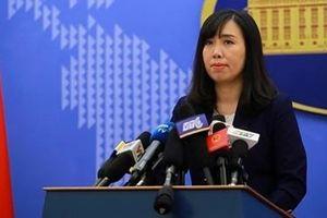 Bộ Ngoại giao lên tiếng trước thông tin Việt Nam xây 10 đảo nhân tạo ở Trường Sa
