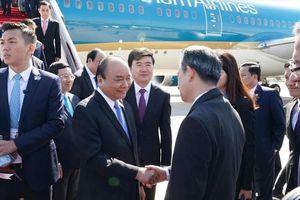 Thủ tướng đến Bắc Kinh, bắt đầu chương trình dự Diễn đàn 'Vành đai và Con đường'