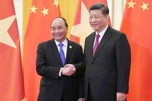 Thủ tướng hội kiến Tổng Bí thư, Chủ tịch nước Tập Cận Bình