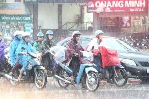 Chiều tối nay Hà Nội có mưa giông