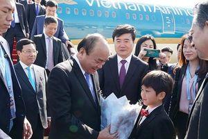 Thủ tướng đến Bắc Kinh, tham dự Diễn đàn 'Vành đai và Con đường'