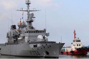 Bắc Kinh nổi giận khi tàu Pháp qua eo biển Đài Loan