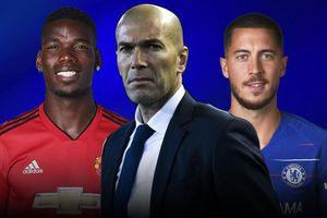 Real có thể sở hữu Pogba, Hazard ngay trong hè 2019