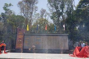 Khánh thành bia lưu niệm Văn phòng Khu ủy V, công nhận 2 xã 'An toàn khu' tại Quảng Nam