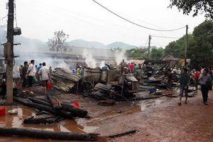 Hỏa hoạn thiêu rụi sáu căn nhà tại Lai Châu