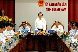 Quảng Nam đẩy mạnh phát triển kinh tế biển