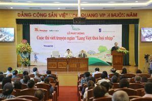 Nhiều nhà văn Việt rung cảm lớn với 'bèo tấm, hoa dâu'