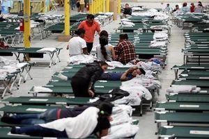 Cám cảnh cuộc sống di dân ở biên giới Mỹ-Mexico