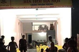Điều tra vụ ẩu đả tại quán bia ở Bắc Giang khiến 2 thanh niên tử vong