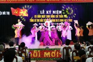 Hà Tĩnh kỷ niệm 115 năm ngày sinh Tổng Bí thư Trần Phú