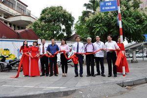 Hà Nội gắn biển tên phố mang tên Bộ trưởng Bộ Tư pháp đầu tiên
