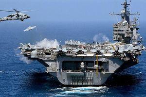 Phớt lờ 2 tàu sân bay Mỹ ở Địa Trung Hải, hải quân Nga - Syria 'vô tư' tập trận
