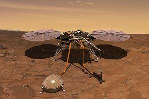 NASA lần đầu tiên ghi được tín hiệu động đất trên sao Hỏa