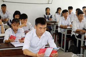 Hơn 41% học sinh lớp 12 của Nghệ An không đăng ký vào đại học