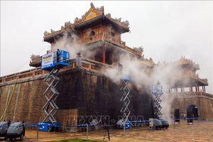Bàn giao dự án làm sạch cổng Ngọ Môn, Đại Nội Huế