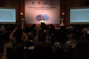 Doanh nghiệp Việt Nam - Hàn Quốc trao đổi hợp tác về robot và tự động hóa