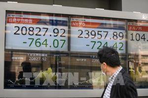 Lo ngại về kinh tế toàn cầu 'phủ bóng' lên chứng khoán châu Á