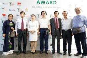 Giải thưởng đầu tiên vinh danh sức khỏe doanh nghiệp và doanh nhân