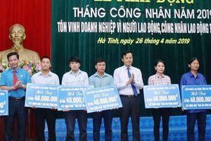 Hà Tĩnh: Nhiều hoạt động ý nghĩa Tháng công nhân 2019