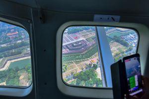 80 km trên không cùng thủy phi cơ từ Huế tới Đà Nẵng