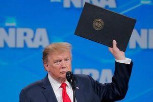 Tổng thống Donald Trump rút Mỹ ra khỏi Hiệp ước buôn bán vũ khí