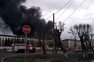 Cháy kinh hoàng ở nhà máy sản xuất tên lửa đạn đạo Sarmat và Sineva của Nga