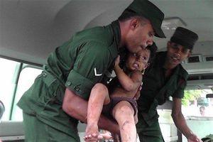 15 người chết ở Sri Lanka sau cuộc đấu súng ác liệt với khủng bố