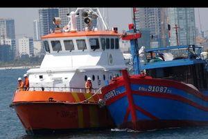 Cứu thành công 7 thuyền viên tàu cá bị trôi dạt hơn 4 ngày trên biển