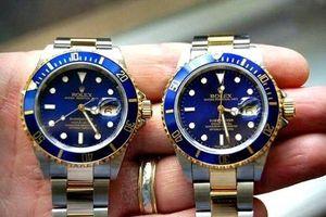 Đồng hồ 'siêu nhái' hãng Patek, Rolex, Hublot làm loạn thị trường