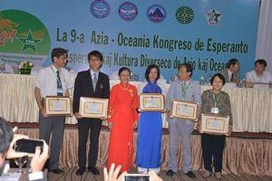 Quốc tế ngữ: Trao Kỷ niệm chương 'Vì hòa bình hữu nghị giữa các dân tộc' cho 5 cá nhân