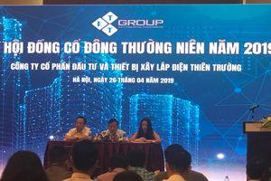 ĐHĐCĐ Xây lắp điện Thiên Trường (KTT): Cổ đông băn khoăn kế hoạch kinh doanh và tăng vốn khủng