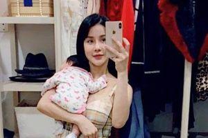 Mới sinh con được 5 tháng, Diệp Lâm Anh tiếp tục mang thai lần hai với chồng thiếu gia