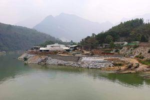 Kiểm tra thông tin báo nêu doanh nghiệp đổ đá xuống sông Mã gia cố nhà xưởng