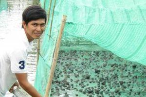 Trai làng nuôi thập cẩm con dưới nước, trên cạn, kiếm bộn tiền
