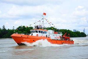 Bộ đội Biên phòng TP Hồ Chí Minh tiếp nhận tàu tuần tra, tìm kiếm cứu nạn hiện đại