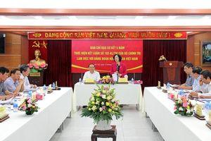 Đồng chí Trương Thị Mai làm việc với Đảng đoàn Hội Luật gia Việt Nam