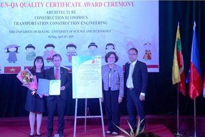 3 chương trình đào tạo của Đại học Bách khoa Đà Nẵng đạt chuẩn AUN-QA