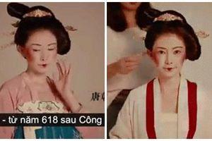 Hành trình thay đổi trang phục lẫn cách trang điểm của phụ nữ Trung Quốc qua các thời Nhà Hán - Đường - Tống - Minh