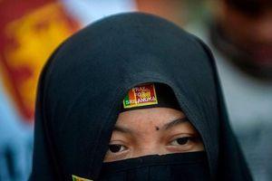 Sri Lanka cấm phụ nữ Hồi giáo đeo mạng che mặt sau vụ khủng bố